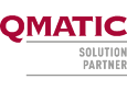Qmatic SolutionPartner logo
