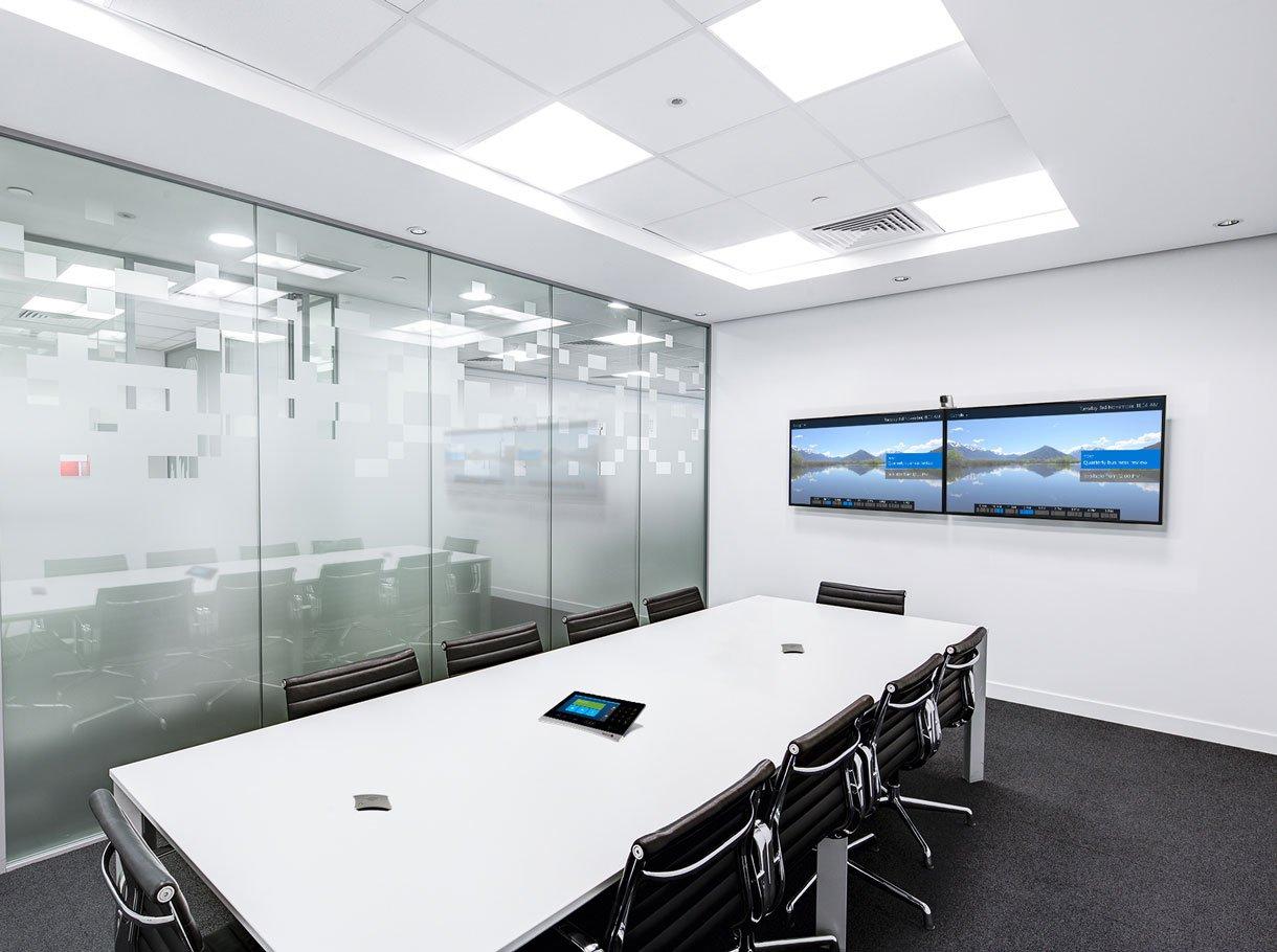 Videokonferenzsystem in Besprechungsraum