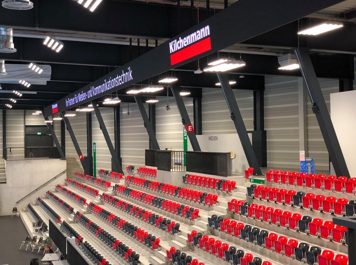 Referenzbild Mobiliar Arena LED