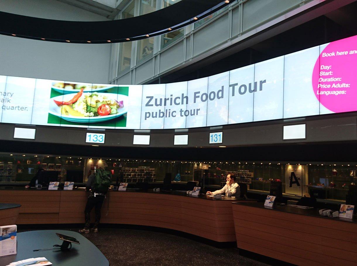 Referenzbild Zürich Tourismus Öffentlicher Bereich