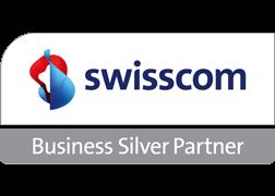 Logo Swisscom Business Silver Partner