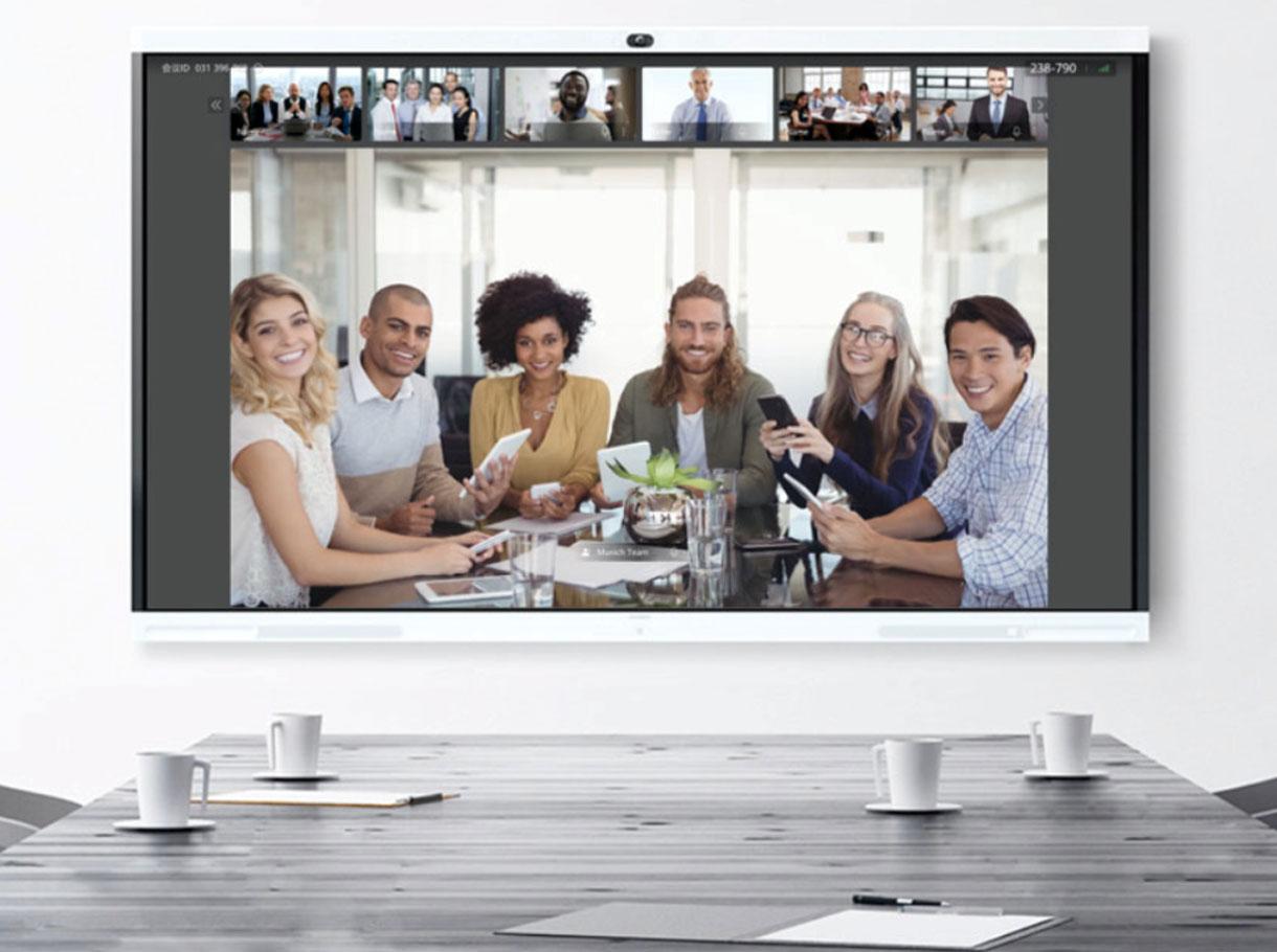 Video-Konferenzen mit Huawei IdeaHub: Beste Audio- und Videoqualität